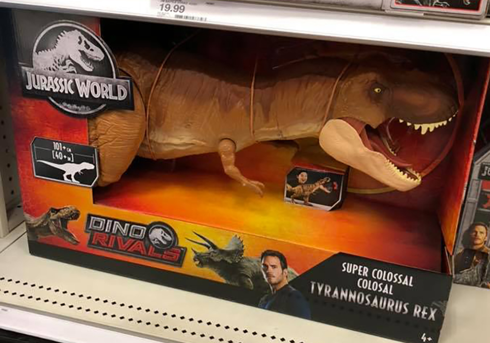 first dino rivals figures spotted on shelves � collect