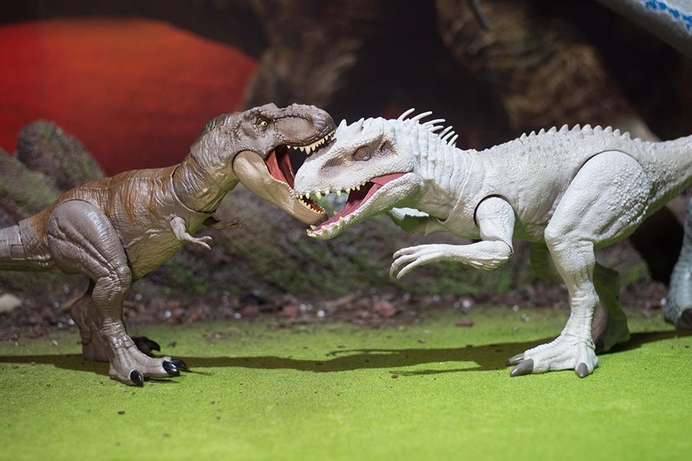 New York Toy Fair: Mattel Destroy 'N Devour Indominus Rex
