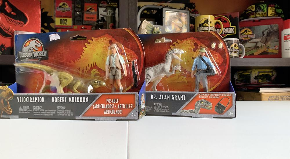 Jurassic World Legacy Story Pack Robert Muldoon /& Velociraptor Rare IN STOCK!