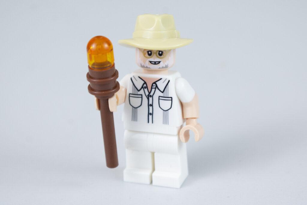 LEGO Jurassic Park John Hammond