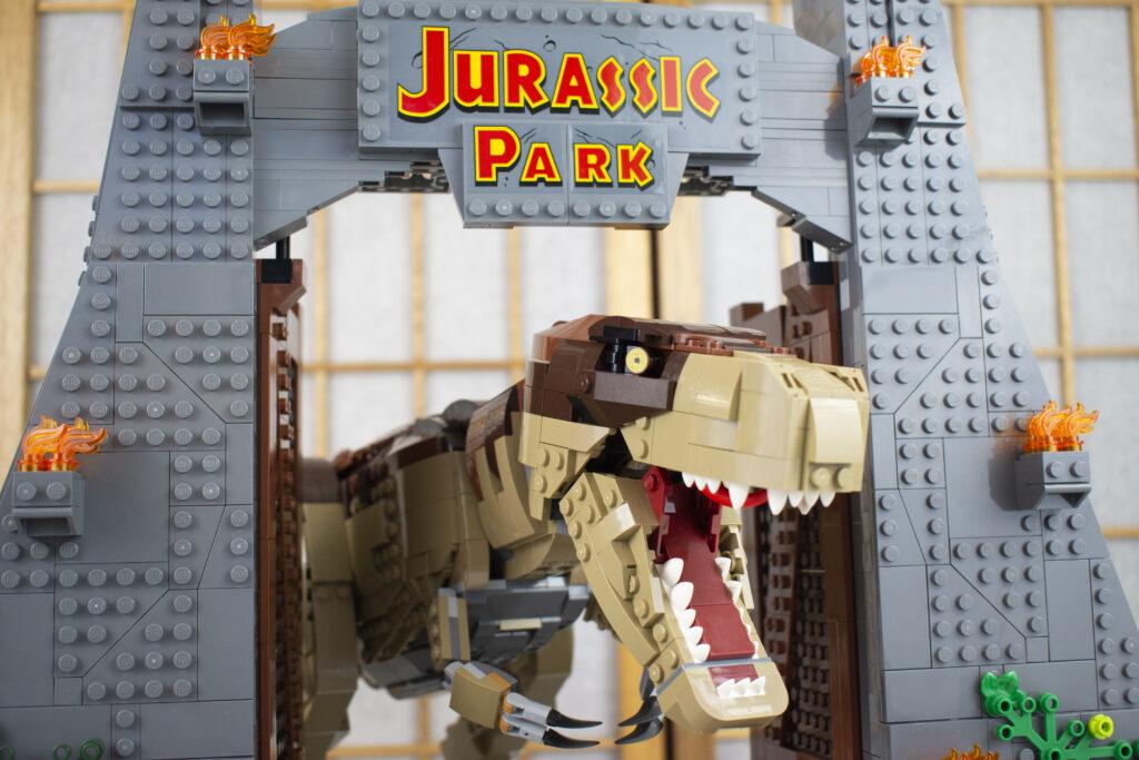 LEGO Jurassic Park Set - Gate Header Image