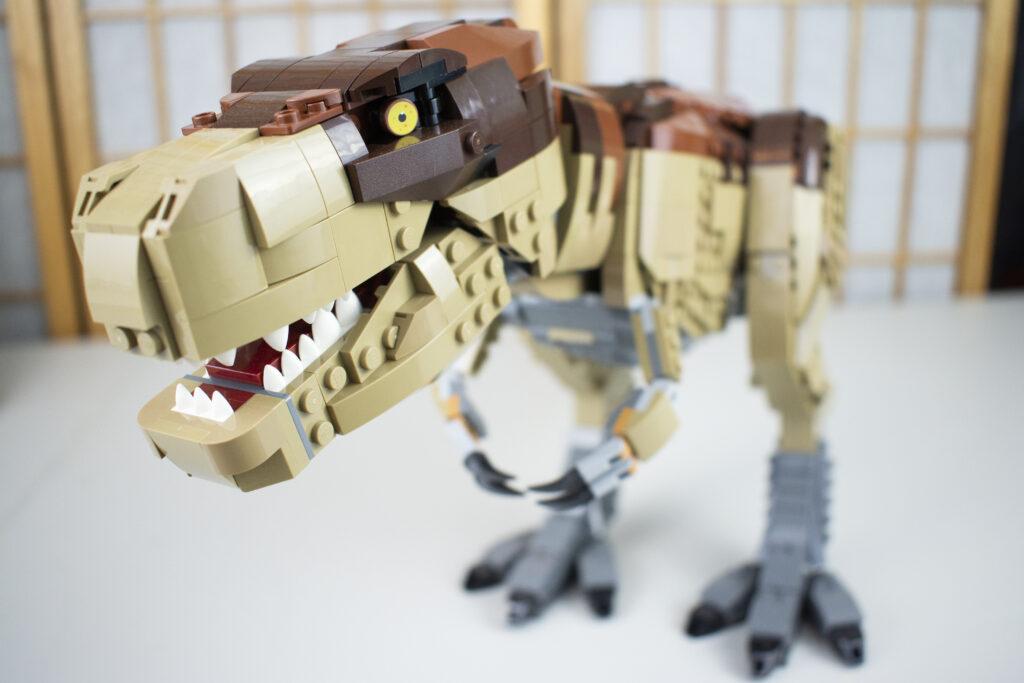 LEGO Jurassic Park T-Rex Full Shot