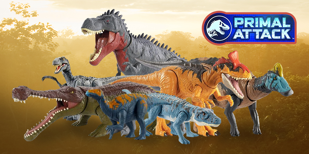 2020 NEW WAVE Protoceratops Jurassic World Attack Pack Camp Cretaceous