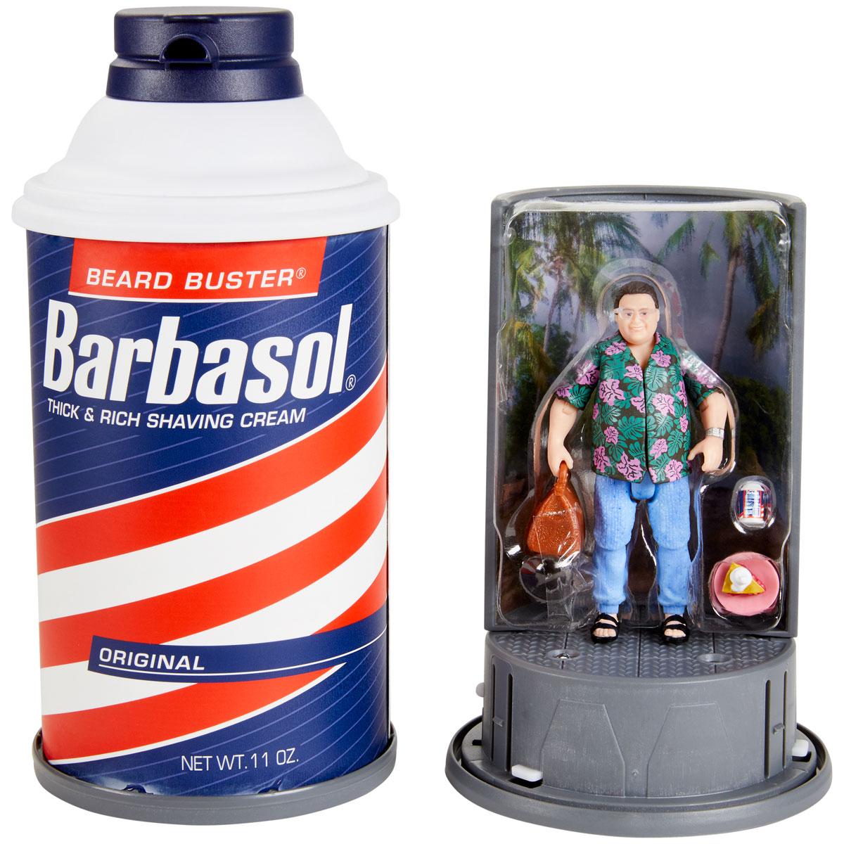 Jurassic Park Barbasol Dennis Nedry figurine San Diego comic-con 2020 Convention Exclusive