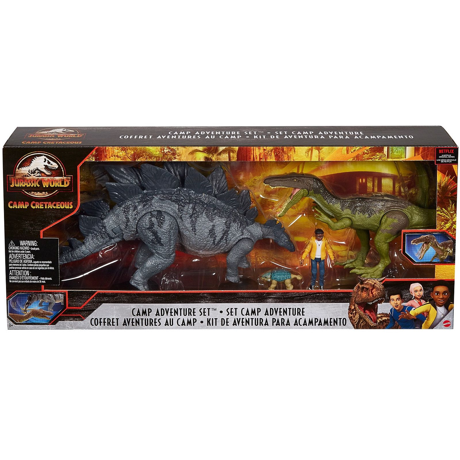 Jurassic World Camp Cretaceous Camp Adventure Set Revealed Collect Jurassic Camp cretaceous, six teenagers at the new adventure camp at jurassic world are stranded and must band together to survive on the opposite side of isla nub. jurassic world camp cretaceous camp