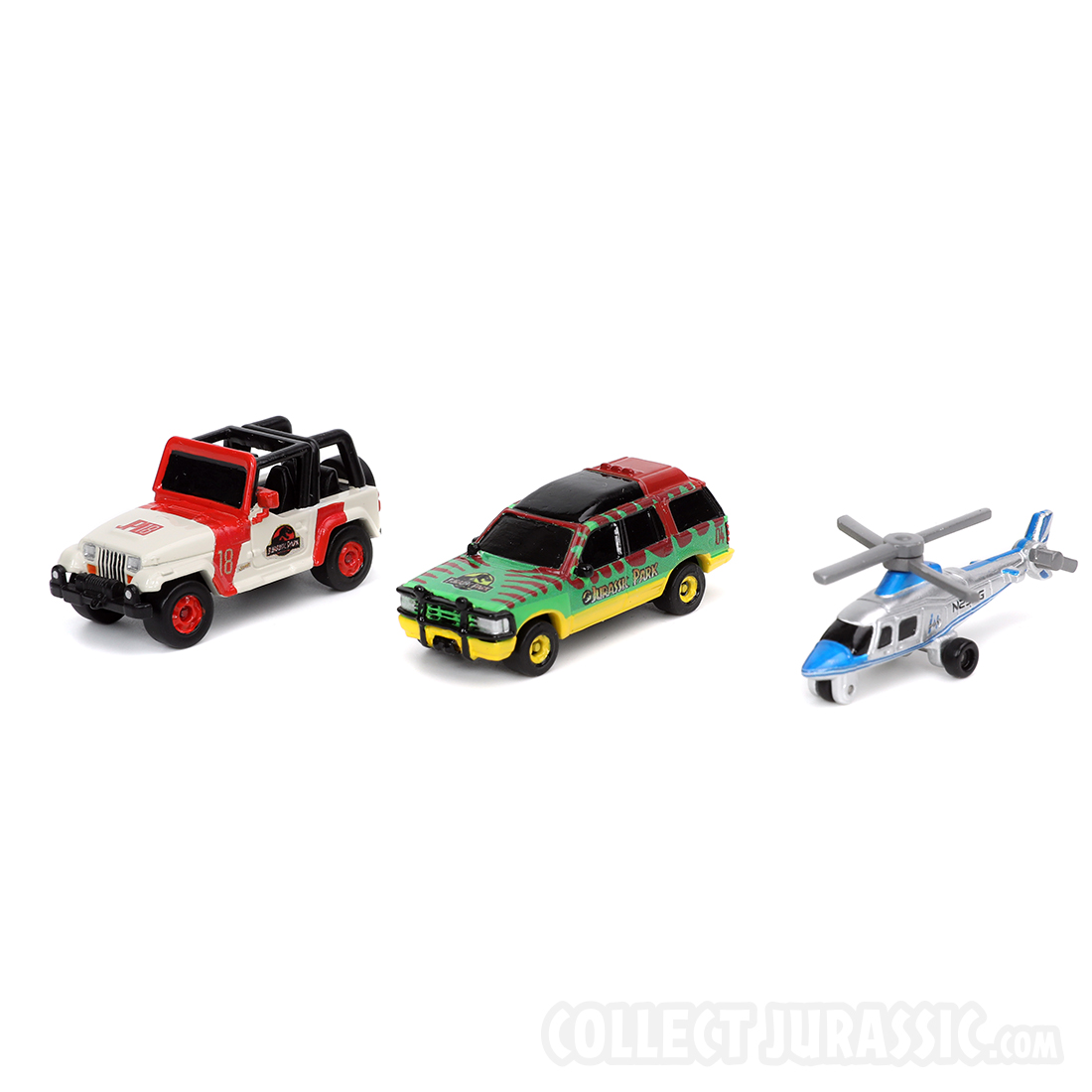 Nano Jurassic Park Vehicles On The Way From Jada Toys - Collect Jurassic